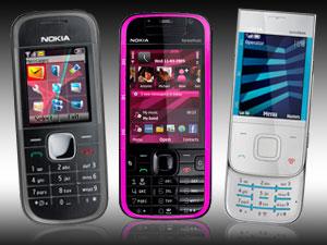 音樂機報到!Nokia 5030、5330XM、5730XM