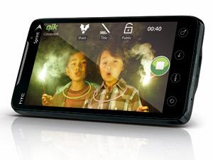 HTC 發表高規音速機 EVO 4G