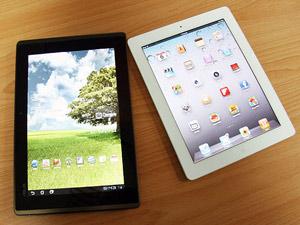 蘋蜂大戰!Eee Pad Transformer VS iPad 2