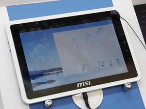 微星推WindPad系列Andorid平板【Computex 2011】