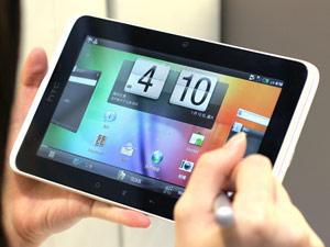 多支筆也多點創意 HTC Flyer平板電腦