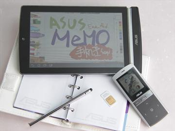 華碩Eee Pad MeMO 觸控、手寫、還能打電話