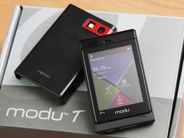 modu T迷你手機 搭配擴充模組超多變