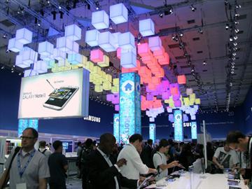 三星全產品IFA展出擊 主打智慧生活 Note2等新品受關注【IFA 2012】