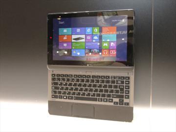 東芝推Win8滑蓋靓品U920t與安桌平板AT300、AT270【IFA 2012】