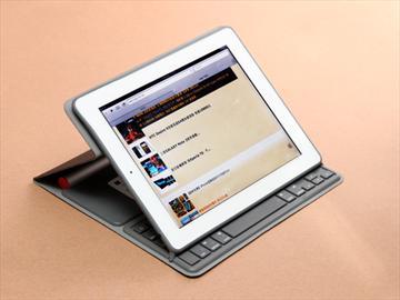 羅技iPad太陽能鍵盤折疊保護組初體驗