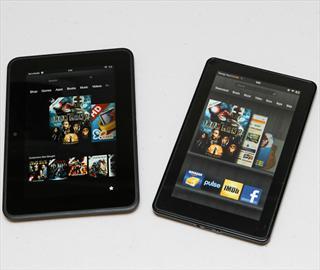 亞馬遜Kindle Fire、HD 7吋平板新舊款外觀速覽