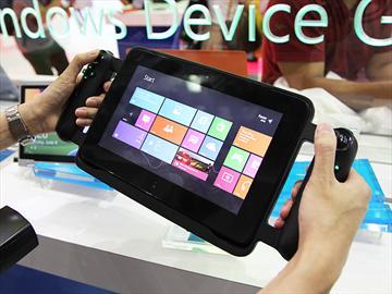 雷蛇遊戲平板Razer Edge 現身微軟攤位【Computex 2013】