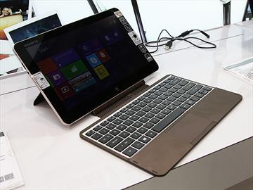 技嘉展出Padbook S1185平板 I/O完整還可接鍵盤【Computex 2013】