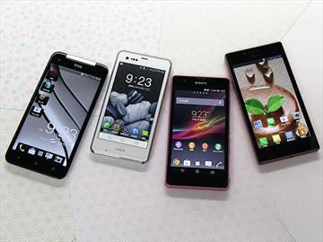 日系風格智慧型手機浪潮正襲台