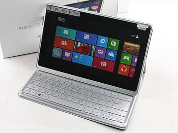 Acer Aspire P3觸打雙用 筆電、平板功能集一身
