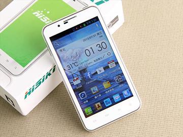 HISIKI H1雙卡智慧手機 主打低價、5吋、SRS音效