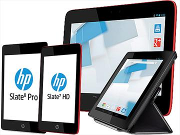 HP推出7、8、10吋共四款Slate系列平板