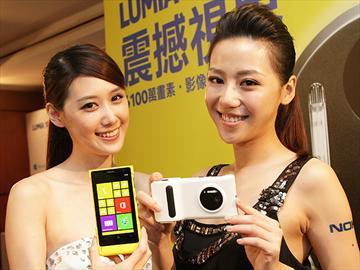 NOKIA Lumia 1020登台 10/8開賣單機24900