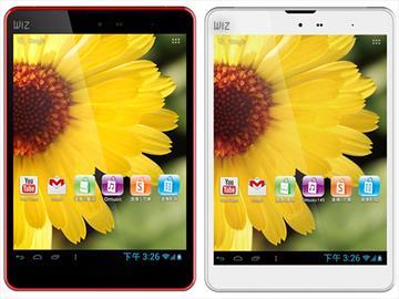 WIZ T-518四核8吋通話平板 遠傳獨賣7990