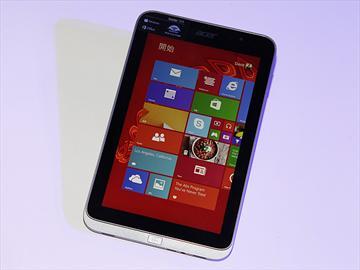 宏碁8吋微軟小平板Acer W4 台灣亮相