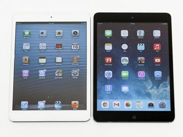 蘋果小平板iPad mini Retina、iPad mini兄弟比拼