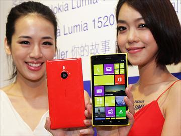 6吋平板手機NOKIA Lumia 1520登台 單機21900